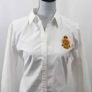 Lauren Ralph Lauren Womens Crest Pocket